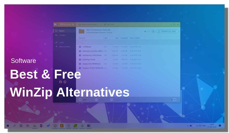Best Free Winzip Alternatives 2019 Techisher